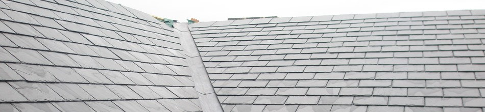 Roofing with slate in Derby