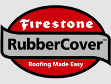 Rubber roofing for flat roofs